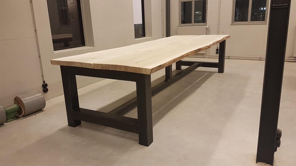 roestvrijstalen tafel onderstel